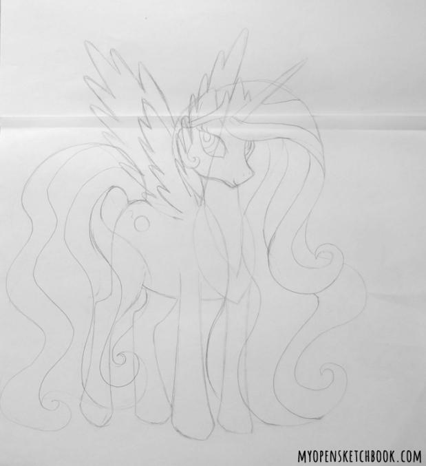 celestia sketch