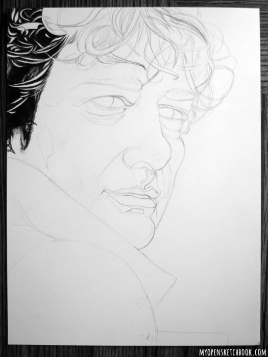 Gaiman portrait