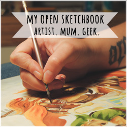 My Open Sketchbook