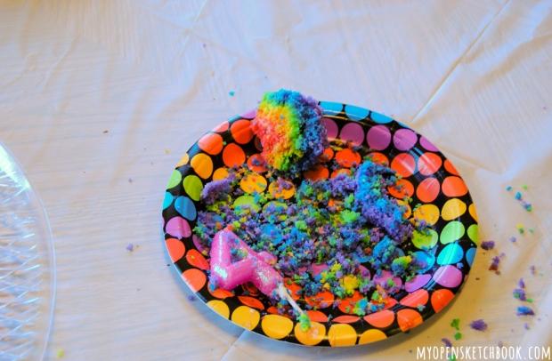 cupcake aftermath